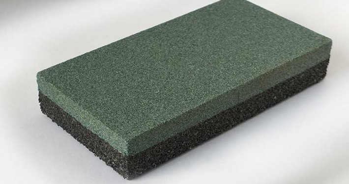 Rubbing brick dressing stone combined rectangular Zische 03