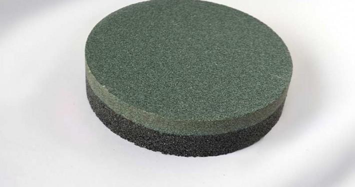 Rubbing brick dressing stone combined round Zische