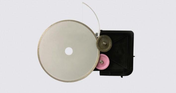 Schleifscheiben Aufschnittmaschinen Kleinstschleifkörper